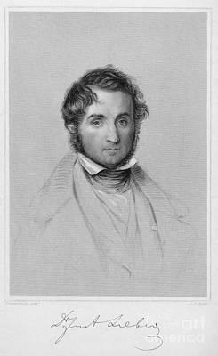 Baron Justus Von Liebig Print by Granger