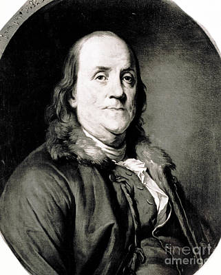 Benjamin Franklin, American Polymath Art Print by Science Source