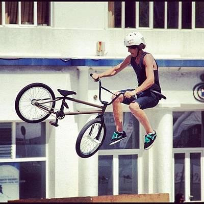 Extreme Sport Photograph - Bmx O Marisquiño #bmx #marisquiño by Hugo Sa Ferreira