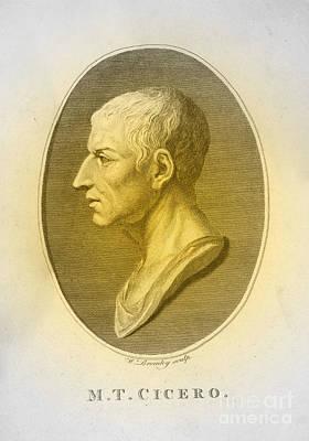 Cicero, Roman Philosopher Art Print