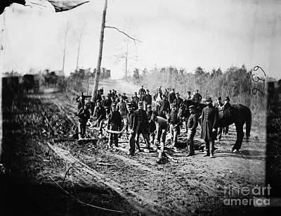 Civil War: Signal Corps Art Print by Granger