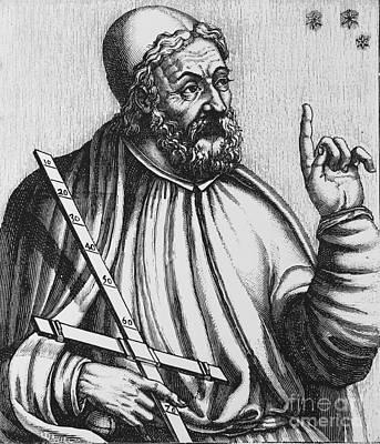 Claudius Ptolemy, Greek-roman Polymath Art Print by Science Source