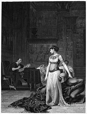 Cleopatra Vii (69-30 B.c.) Art Print