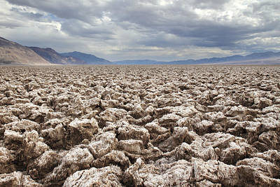 Photograph - Devils Golf Course In Death Valley by Pierre Leclerc Photography
