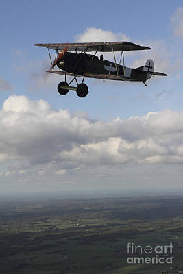 Mellow Yellow - Fokker D.vii World War I Replica by Daniel Karlsson