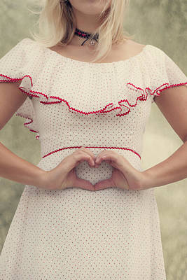 Heart Necklace Photograph - Heart by Joana Kruse