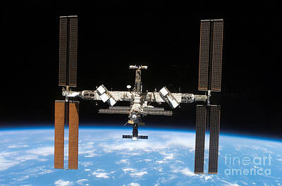 Photograph - International Space Station by Nasa