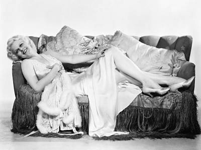 Jean Harlow (1911-1937) Art Print by Granger