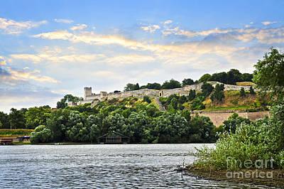Wilderness Camping - Kalemegdan fortress in Belgrade by Elena Elisseeva