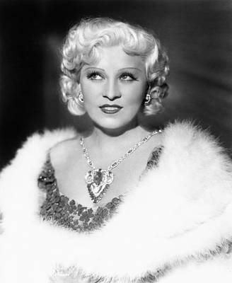 Mae West (1892-1980) Art Print