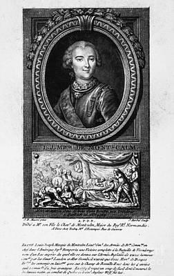 Marquis De Montcalm Art Print