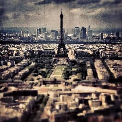 Travel Photograph - #paris by Ritchie Garrod