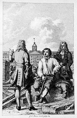 Peter I (1672-1725) Art Print