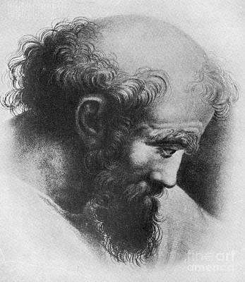 A2 Photograph - Pythagoras, Greek Mathematician by Science Source