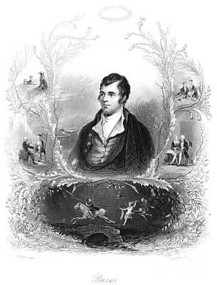 Robert Burns (1759-1796) Print by Granger