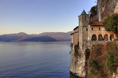 Pilgrimage Photograph - Santa Caterina Del Sasso by Joana Kruse