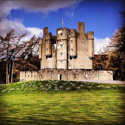 Fantasy Wall Art - Photograph - Scottish Castle by Luisa Azzolini
