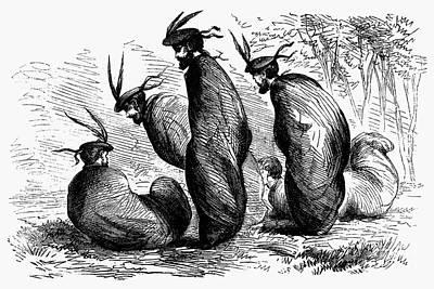 Scottish Games, 1867 Art Print by Granger