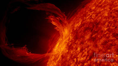 Solar Prominence Photograph - Solar Prominence by Science Source