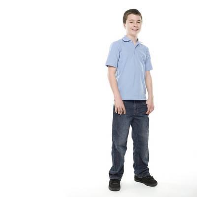 Teenage Boy Art Print by