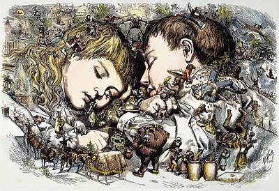 Thomas Nast: Christmas Art Print by Granger