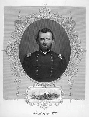 Photograph - Ulysses S. Grant by Granger
