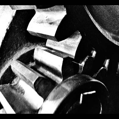 Gears Wall Art - Photograph - Instagram Photo by Ritchie Garrod