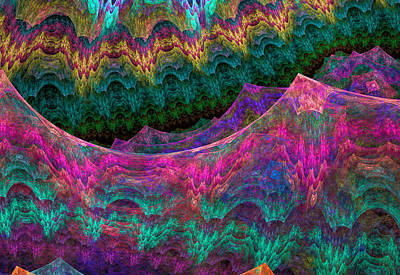 Generative Digital Art - 623 by Lar Matre