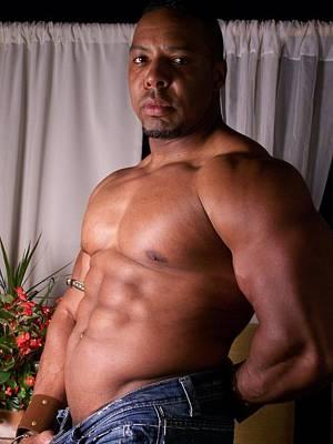 Male Nude Photograph - Male Muscle Art by Jake Hartz
