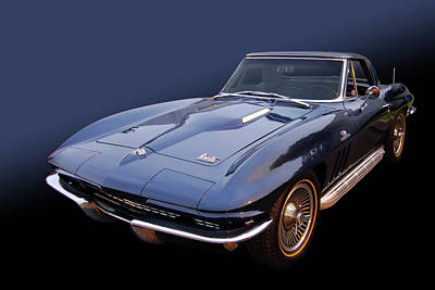 66 Big Block Vette Art Print