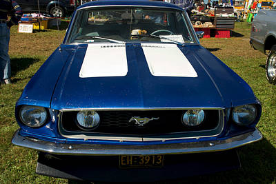 Photograph - 67 Ford Mustang by Mark Dodd