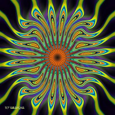 677 Art Print by Rick Thiemke