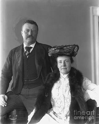 Theodore Roosevelt Art Print by Granger