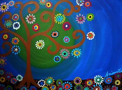 Tree Painting - Tree Of Life by Pristine Cartera Turkus