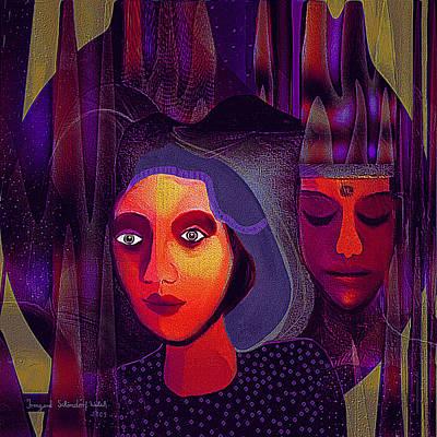 696 - Couple Art Print