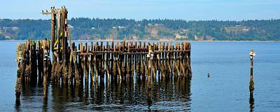 Photograph - 6th Ave Ferry by Mark Bowmer