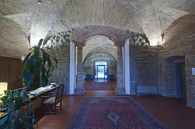 A Traditional Hotel The Ospedalicchiodi Art Print