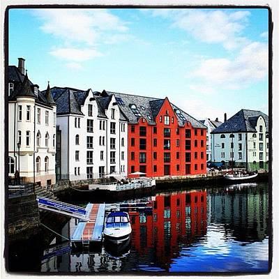 Cityscape Photograph - Alesund by Luisa Azzolini