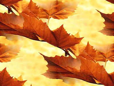 Autumn Art Print by Design Windmill