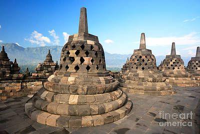 Mahayana Photograph - Borobudur by MotHaiBaPhoto Prints