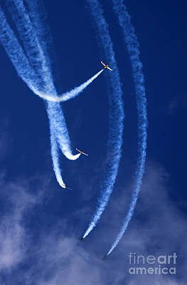 World War 2 Action Photography - Breitling Jet Team by Angel Ciesniarska