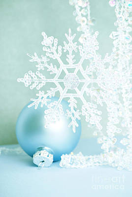 Christmas Ornaments Art Print by HD Connelly