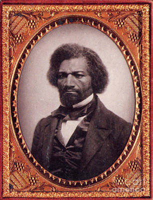 Abolition Photograph - Frederick Douglass African-american by Photo Researchers