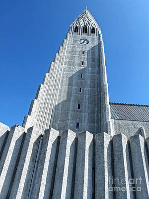 Photograph - Hallgrimskirkja Church - Reykjavik Iceland  by Gregory Dyer