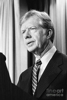 Photograph - Jimmy Carter (1924- ) by Granger