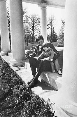Photograph - John F. Kennedy by Granger