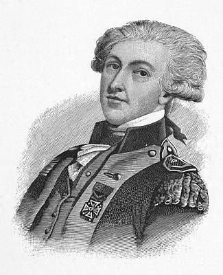Maltese Photograph - Marquis De Lafayette by Granger
