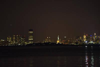 Photograph - Nyc Harbor View by Theodore Jones