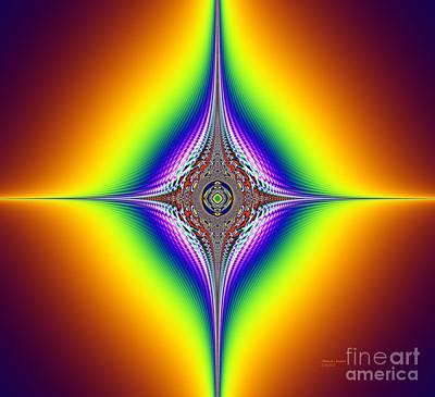 Mixed Media - Planetary Star Rings  by Deborah Juodaitis
