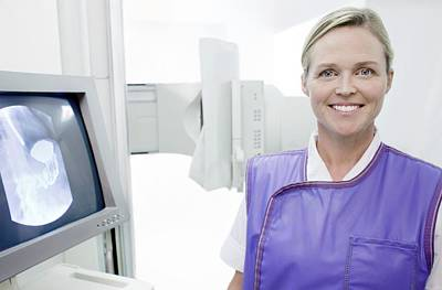 X-ray Image Photograph - Radiographer by